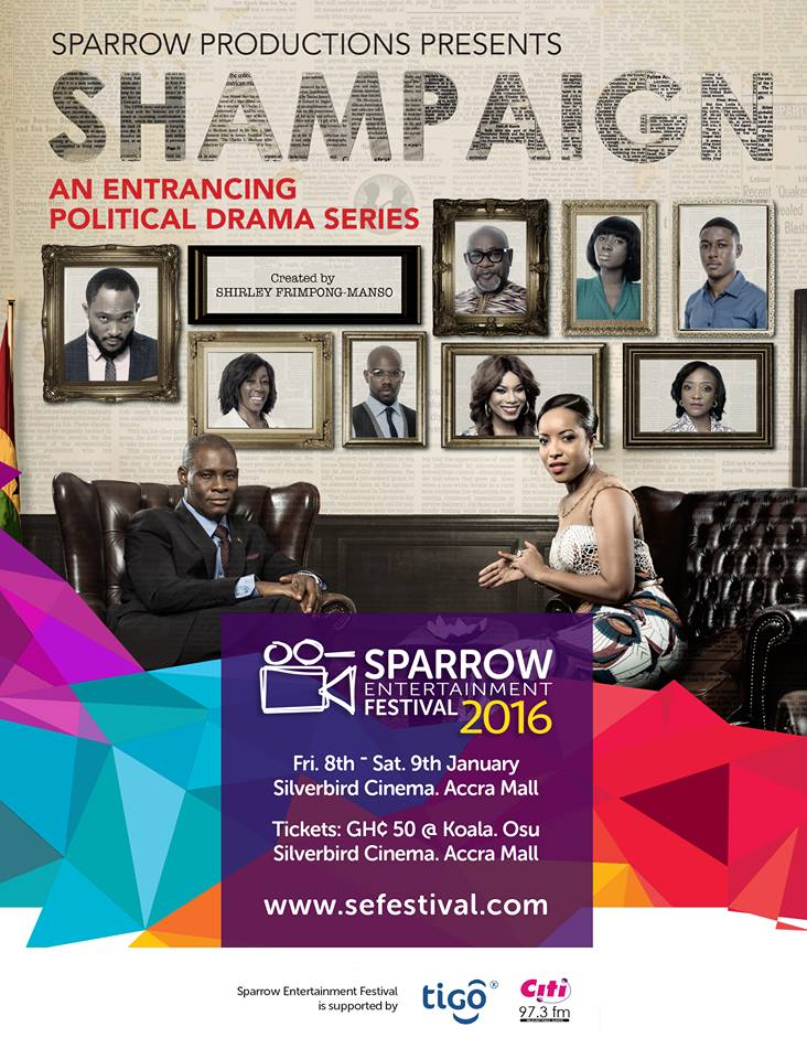 Sparrow Entertainment Festival 2016: Screening Of SHAMPAIGN‬ And REBECCA‬ Movies