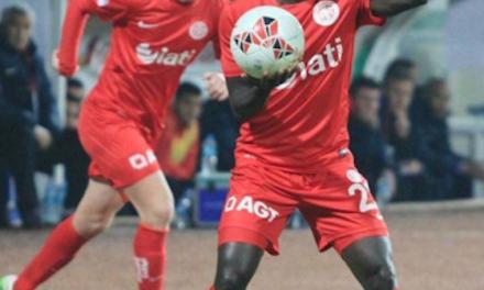 Sports News: Antalyaspor in Turkish Cup win:  Samuel Inkoom in action