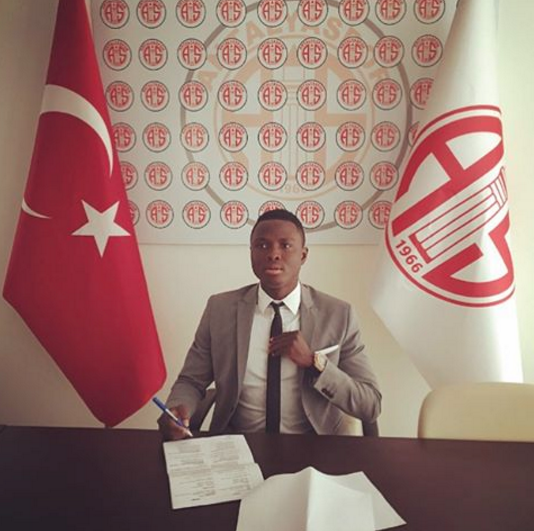 Samuel Inkoom Signs Deal With Antalyaspor