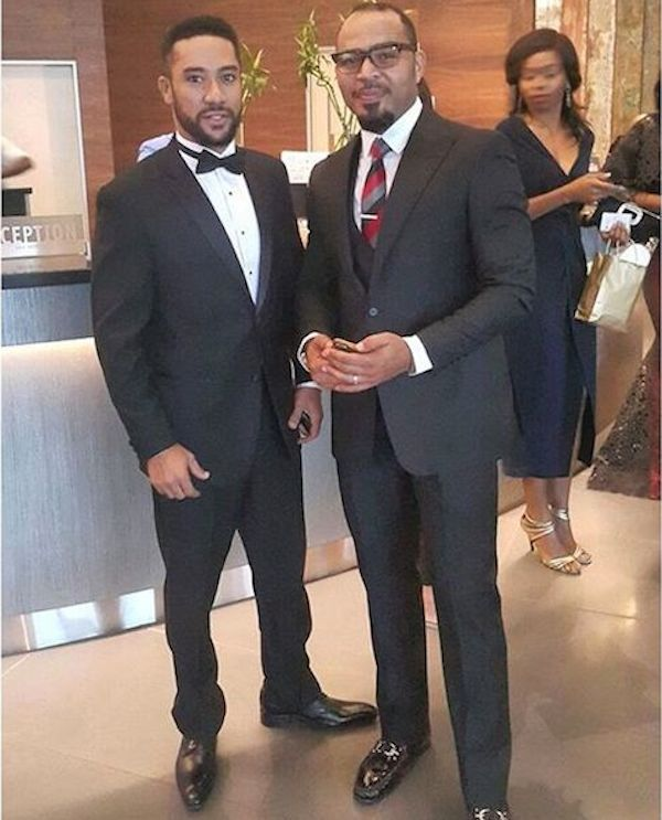 African Celebs Rocking At The AMVCA 2016