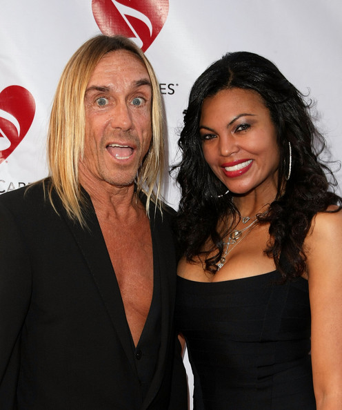 Nina Alu and Iggy Pop