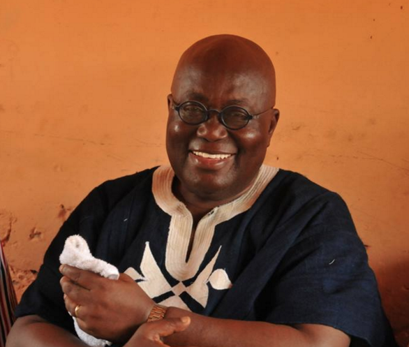 Nana Addo Dankwa Akufo-Addo.New Patriotic Party (NPP) flag bearer