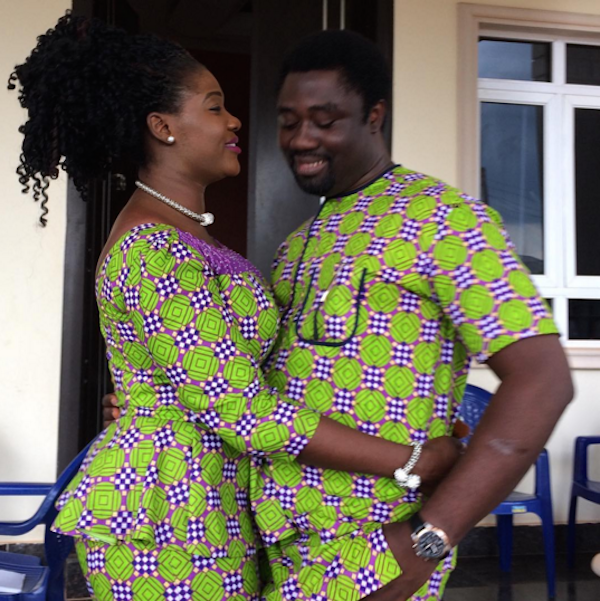 Checkout Mr And Mrs Okojie…