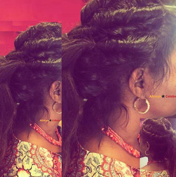 AFRICAN CELEBS HAIR