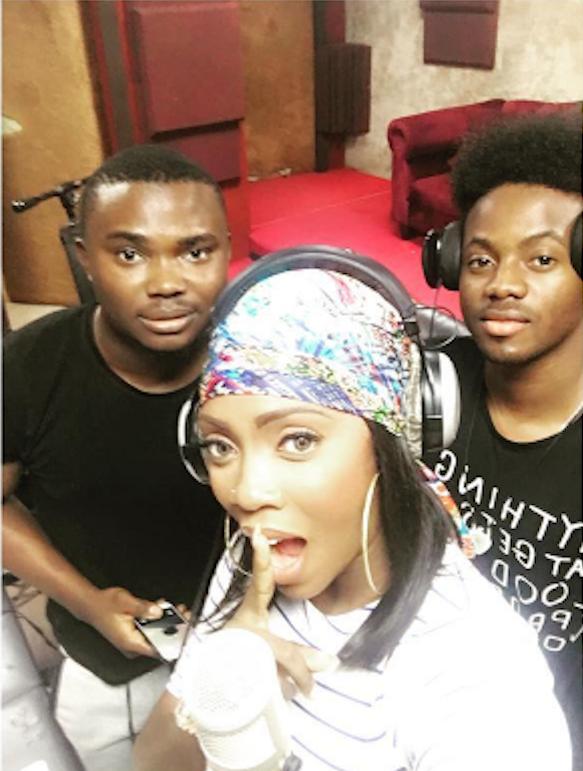 Nigerian Artist Tiwa Savage:Back to work…