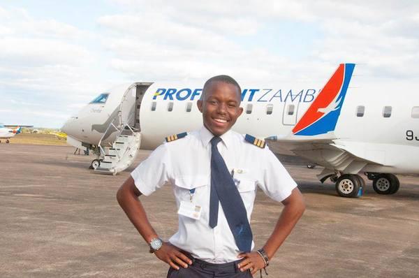 Tech Spotlight: Youngest Commercial Pilot In Zambia Kalenga