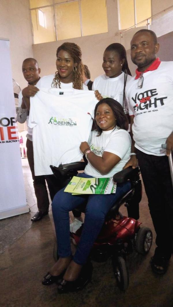 "Stephanie Linus Flags Off The ""Stop VAWIE"" Campaign In Edo State."