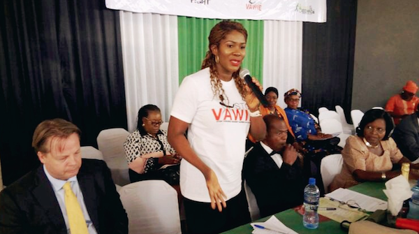 "Stephanie Linus Flags Off The ""Stop VAWIE"" Campaign In Edo State"