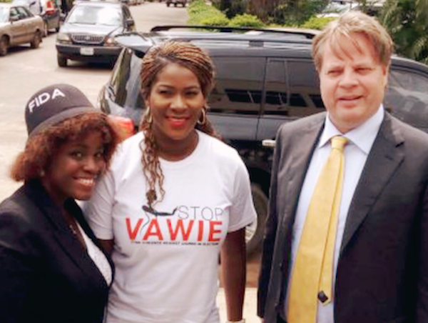"""Stephanie Linus Flags Off The """"Stop VAWIE"""" Campaign In Edo State1"""