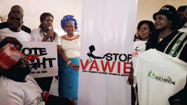 """Stephanie Linus Flags Off The """"Stop VAWIE"""" Campaign In Edo State2"""