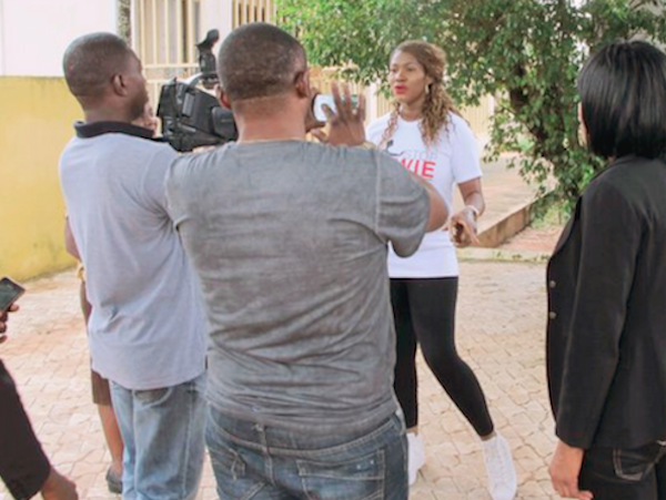 """Stephanie Linus Flags Off The """"Stop VAWIE"""" Campaign In Edo State4"""