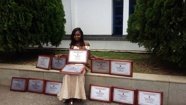 History Maker: KNUST Doctor Sets A Record By Grabbing 12 Awards Out Of 14…