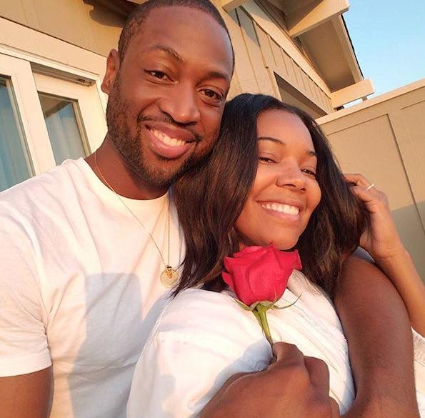 Happy Wedding Anniversary Gabrielle Union And Dwyane Wade…