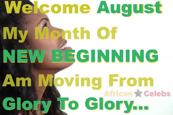 August: Happy New Month Everyone…