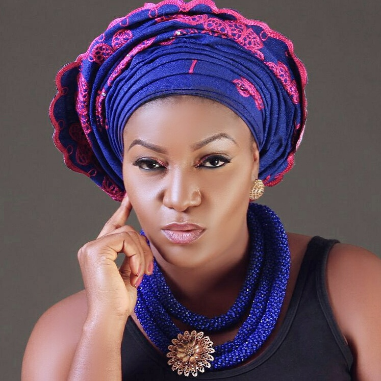 Nollywood actress queennwokoye