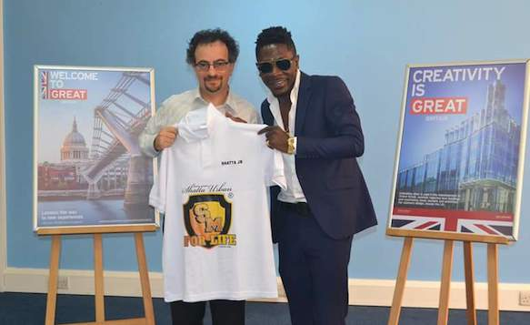 Shatta Movement: Shatta Wale And BHC To Ghana Hon. Jon Benjamin