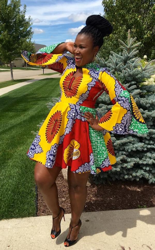 Twena fashions african celebs..