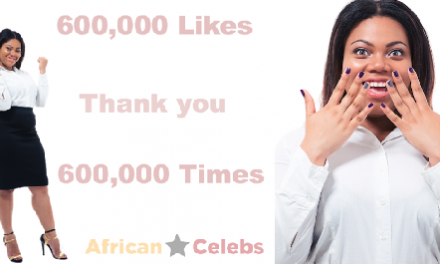 600k Likes: Thank You For Your Support…