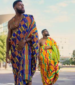 African celebs - Justin Spio