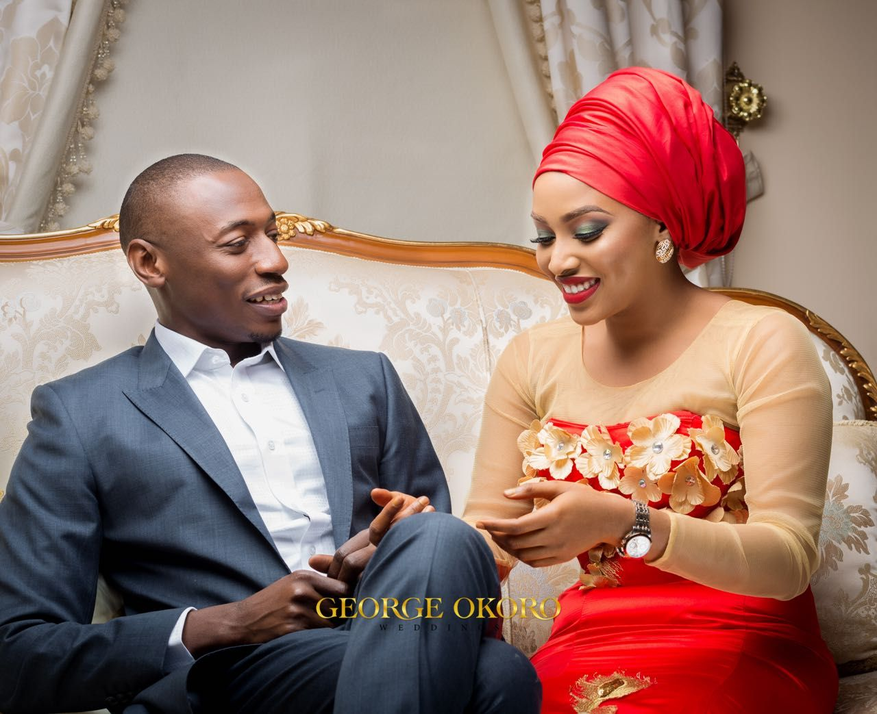 Nana Shagari And Saleh Lukat's Stunning Prewedding Photos…