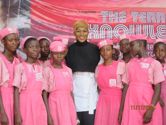 Event Highlight: Stephanie Linus Mentors Students at the Lagos Book And Arts Festival 2016
