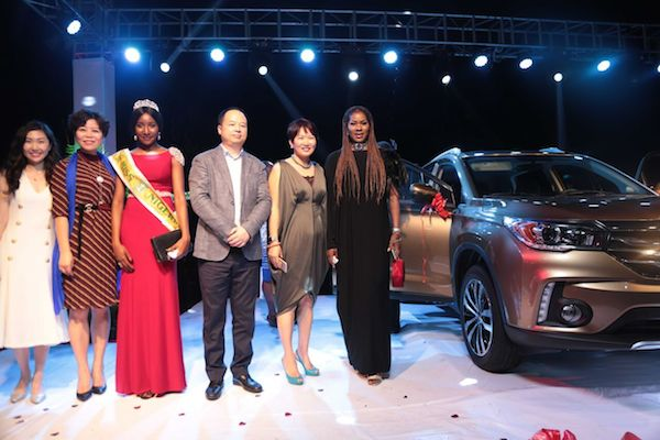 Lai Mohammed at GAC Motor's GS4 Launch