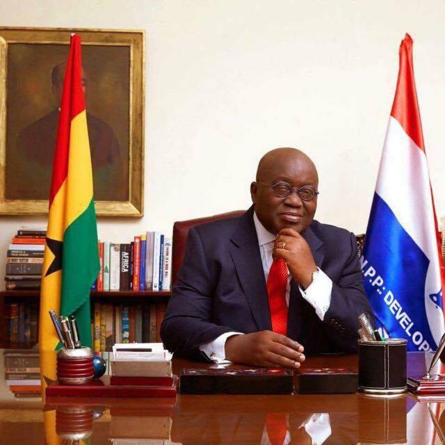 Newly Elected Ghanaian President Nana Akufo Addo…