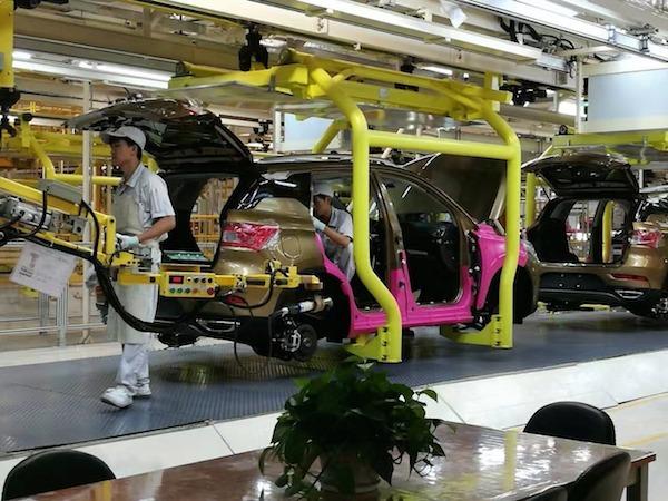 The CIG Motors Automobile Plant in Lagos, Nigeria