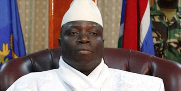 Gambian president Jammeh declares state of emergency