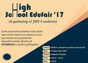 Accra to host maiden High School Edufair