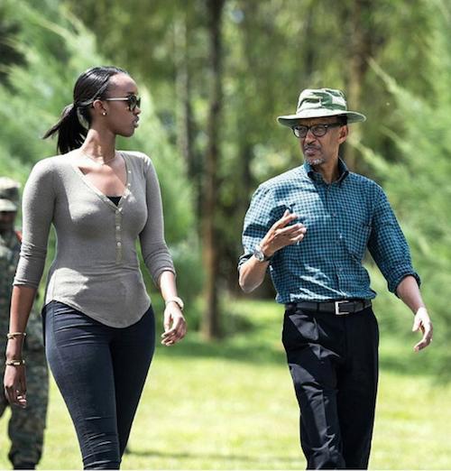 Celebs who give back: Ange Kagame Of Rwanda…