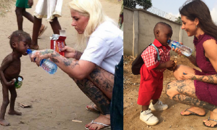 Celebs who give back: Nigerian Boy Left For Dead Rescued By Good Samaritan Anja
