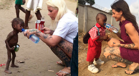 African Celebrities Who Give Back : Nigerian Boy Left For Dead Rescued By Good Samaritan Anja
