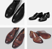 Discover men's shoes with 'The Mahn' in Ghana