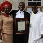 Oluwatobi Olasunkanmi Wins The William Charnley Prize For The Best 1ST Class In Law At Cambridge Uni….