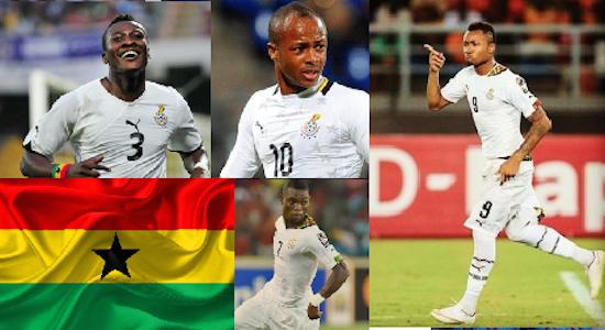 Football Spotlight: Ghana Names 2017 Afcon Squad