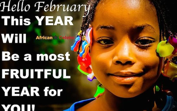 February 2017: Happy new month everyone!