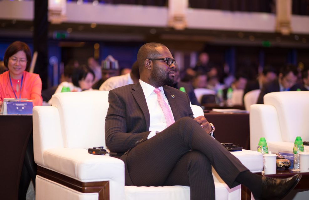 Linus Idahosa & Nigerian Governors At The Nigeria-China…