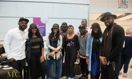 EXCLUSIVE PICTURES: Music's Biggest Stars Arrive For The 'One Africa Music Fest'