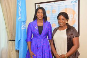 UNFPA Ambassador Stephanie Linus Visits Democratic Republic of Congo on International Day to End Obstetric Fistula