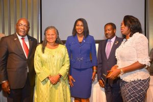 UNFPA Ambassador Stephanie Linus