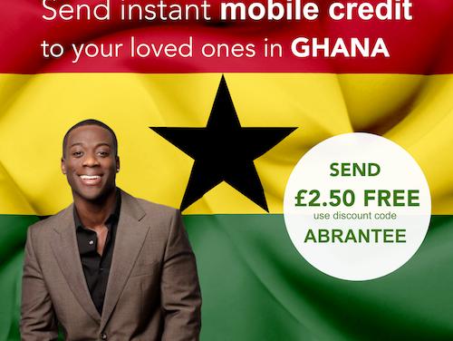 Download @senditoo_mobile app Use code: ABRANTEE