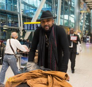 One Africa Fest host Banky W - Heathrow