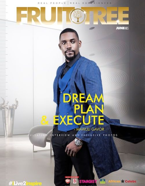 Mawuli Gavor Stuns The June Edition Of The Fruit Tree Magazine…