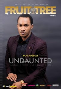 Baaj Adebule Oozes With Finesse On The Cover Of The Fruit Tree Magazine