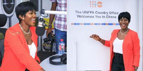 Maternal Health: UNFPA Regional Ambassador Stephanie Linus Visits Ghana