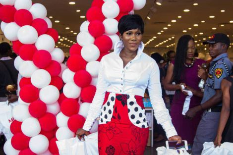 Stephanie Linus, Ogun State First Lady Olufunso Amosun At MINISO Nigeria Launch…