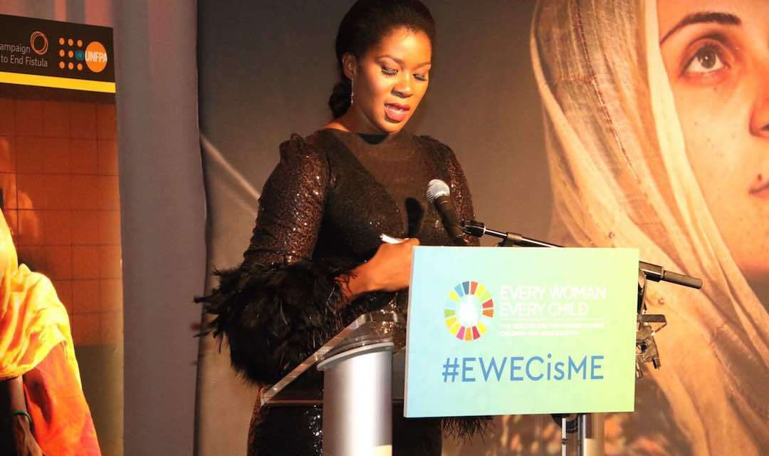 UNFPA Ambassador Stephanie Linus And Other World leaders At The U.N General Assembly