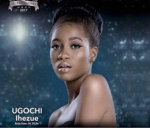 Ugochi Ihezue Wins Most Beautiful Girl In Nigeria 2017