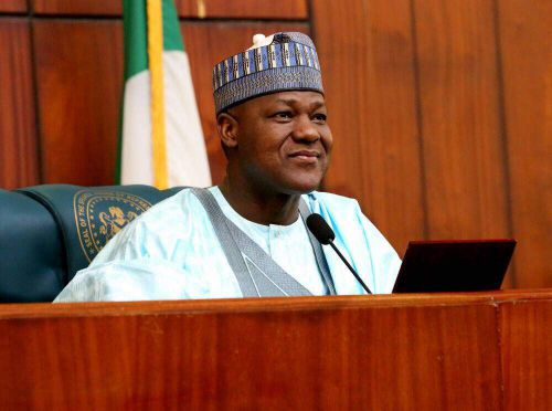 PRESIDENT BUHARI FELICITATES WITH YAKUBU DOGARA AT 50